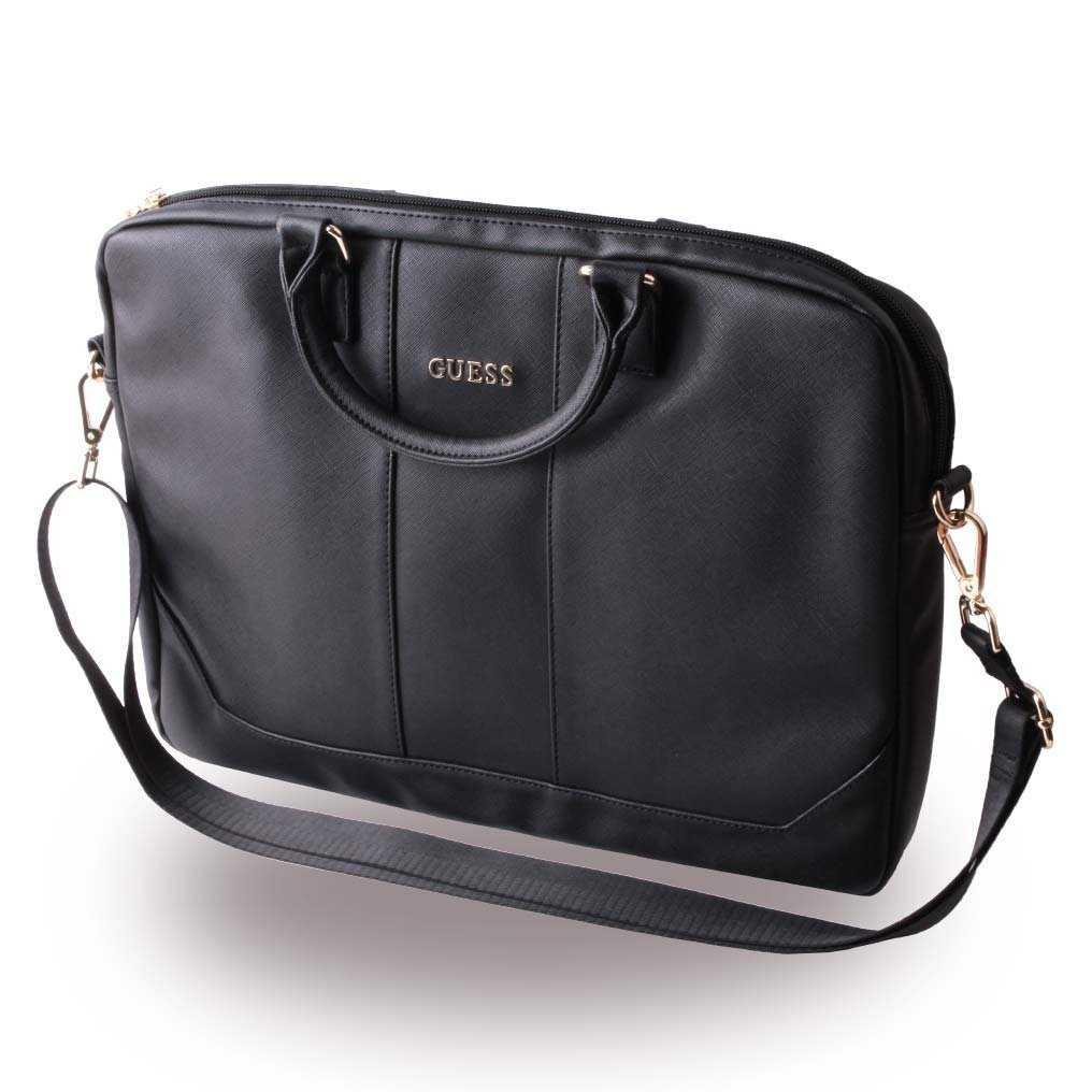 Guess Saffiano-Look Computer Bag 15