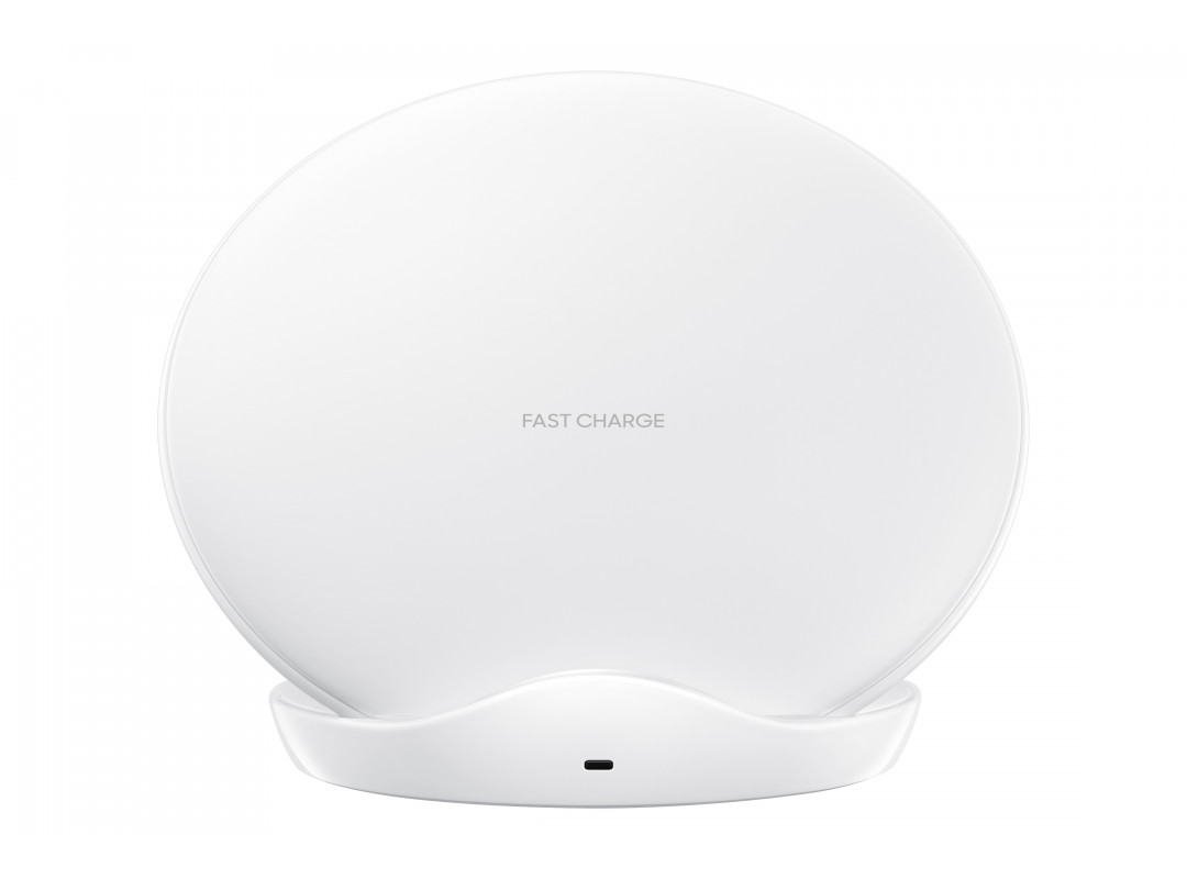 Samsung Wireless Charger Stand With Wall Charger - White (EP-N5100BW)