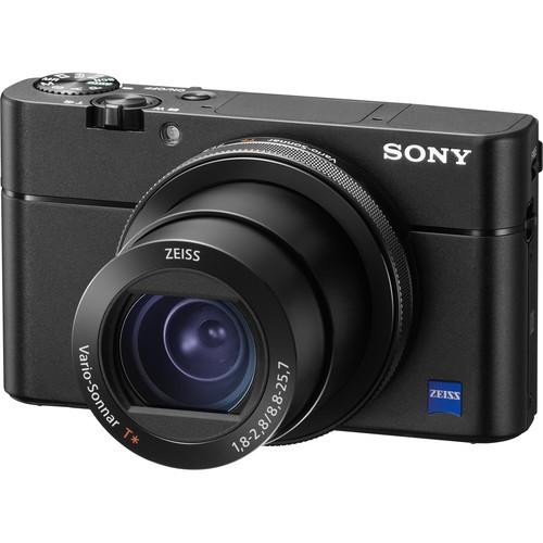 Sony Cyber-shot DSC-RX100 V Digital Camera (Black)