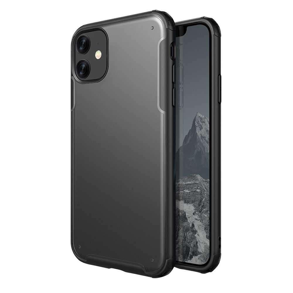 Viva Madrid Vanguard Shield Frost Back Case for iPhone 11 - Black
