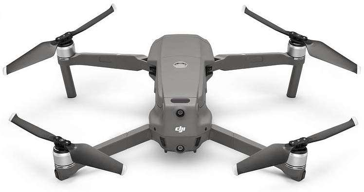 DJI Mavic 2 Pro Drone Quadcopter with Hasselblad, Gray - DJI-MV200P