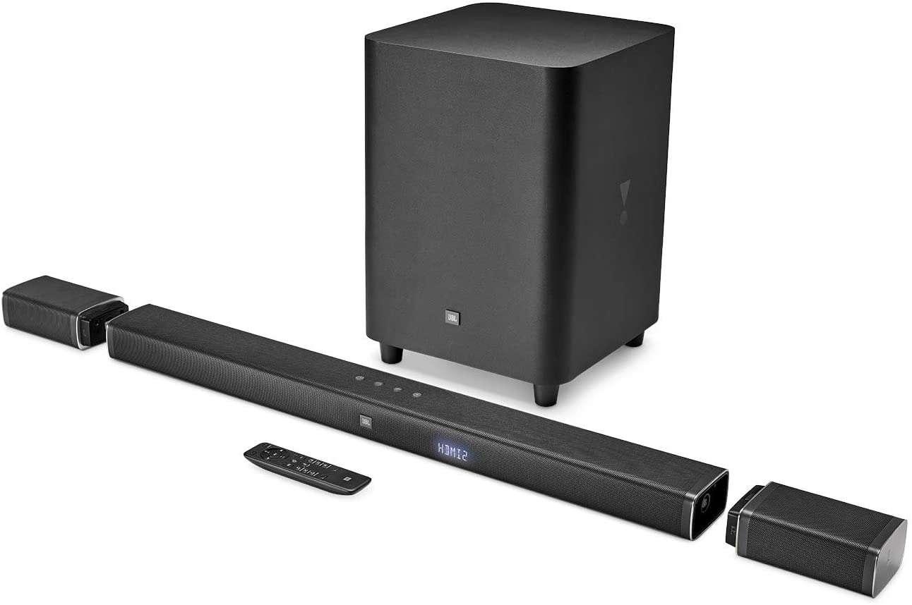 JBL 5.1-Channel 4K Ultra HD Soundbar with Wireless Subwoofer BAR