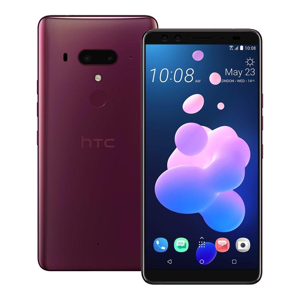 HTC U12+ Dual SIM - 128GB, 6GB RAM, 4G LTE, Flame Red