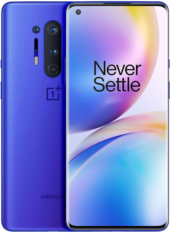 OnePlus 8 Pro Dual SIM 12GB RAM 256GB 5G Ultramarine Blue