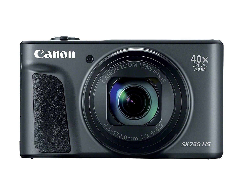 Canon PowerShot SX730 HS, 20.3MP Digital Camera - Black