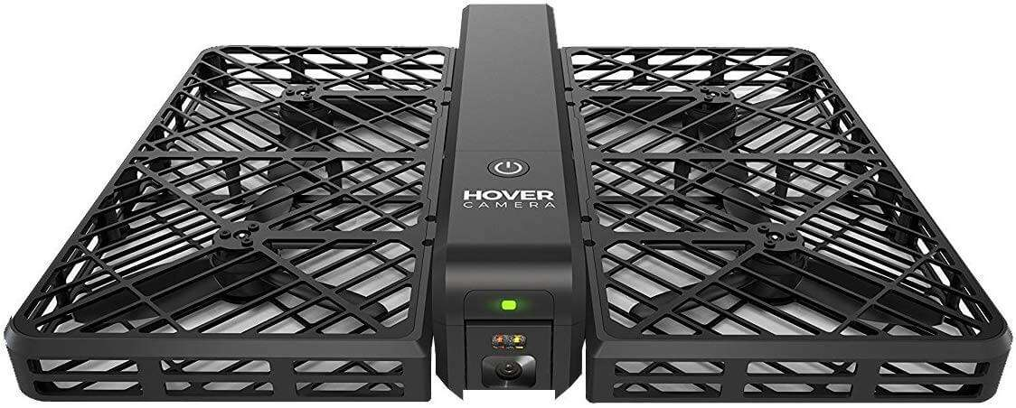 Hover Camera Passport Self-Flying Drone, 4k Video & 13MP Photography, Auto-Follow, & Facial Recognition