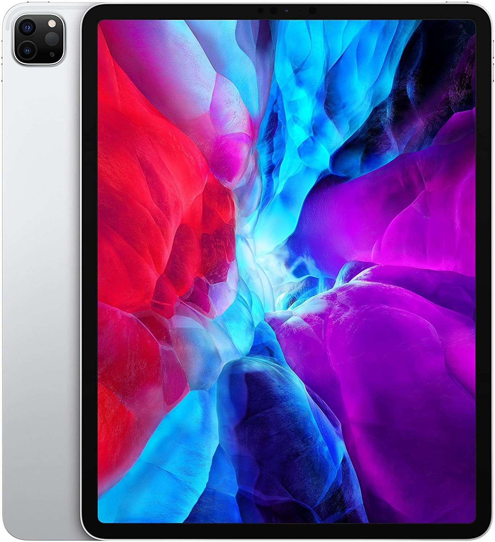 Apple iPad Pro 2020 (4th Generation) 12.9-inch 128GB, Wi-Fi + Cellular, Silver