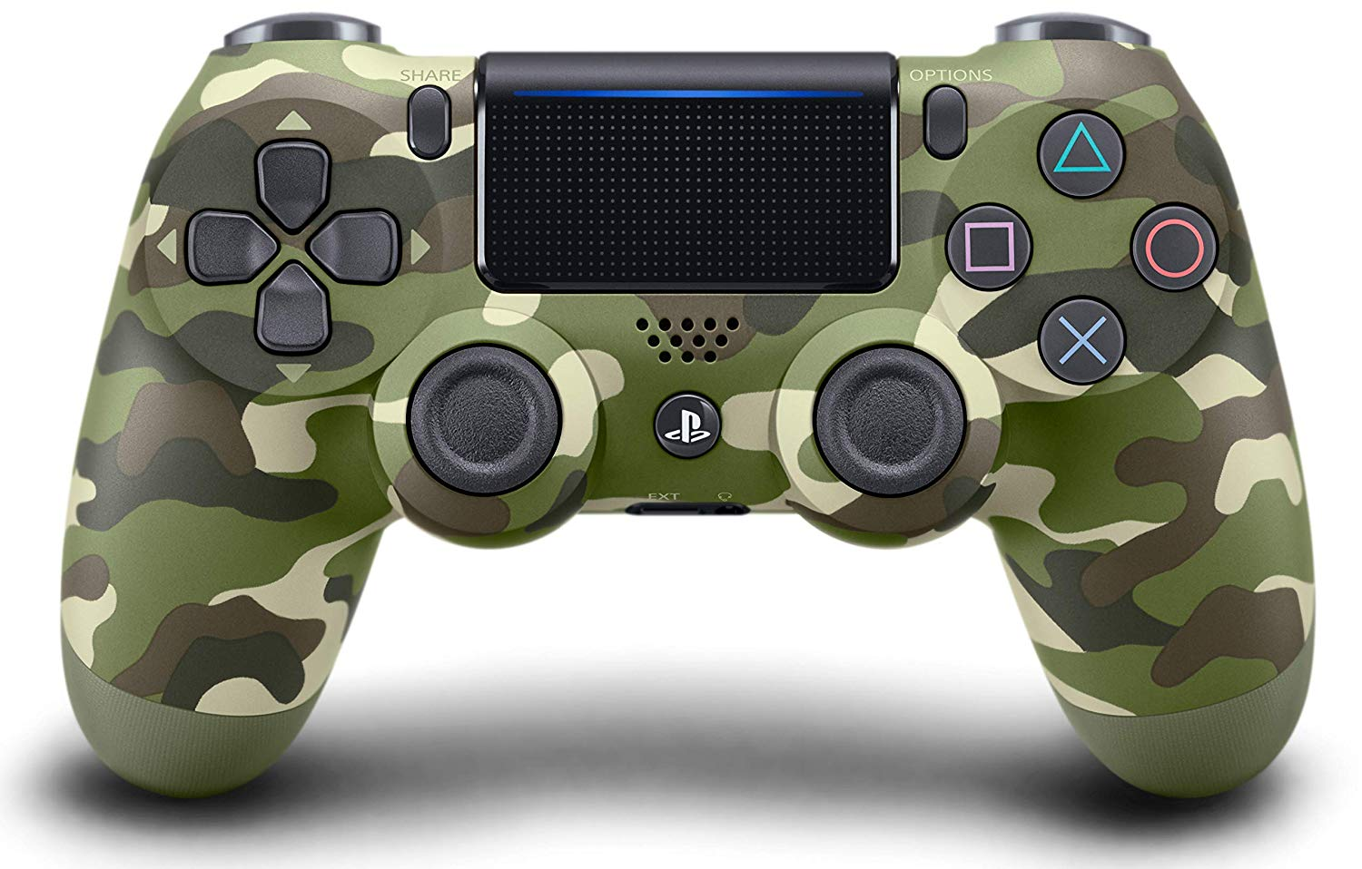 Sony PlayStation 4 DualShock 4 Wireless Controller Green Camouflage