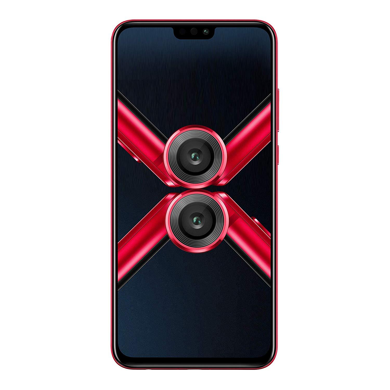 Honor 8X Dual SIM - 128GB, 4GB RAM, 4G LTE, Red