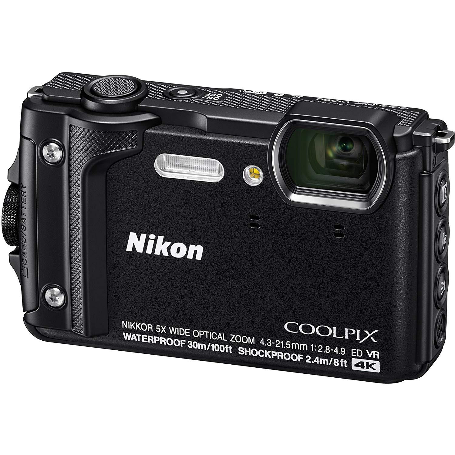 Nikon Coolpix W300 BK Sport Action Camera Black