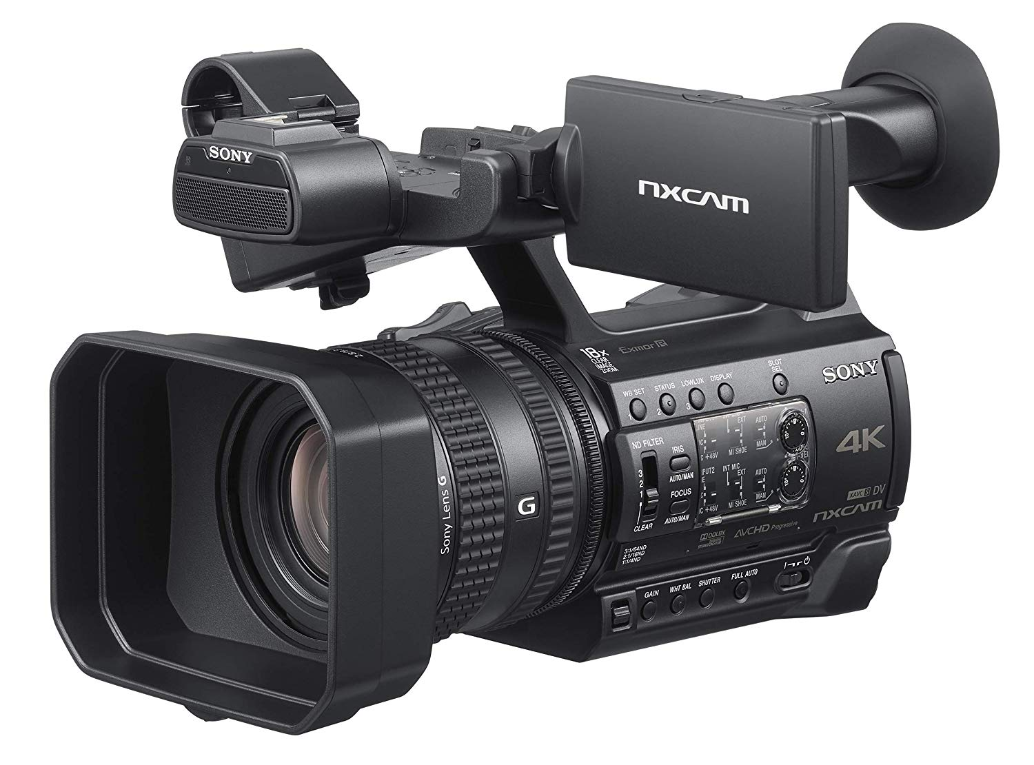 Sony HXR-NX200 4K Professional PAL Camcorder