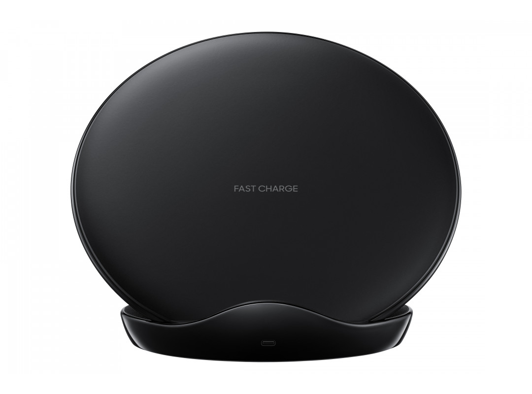Samsung  Wireless Charger Stand With Wall Charger - Black (EP-N5100BB)