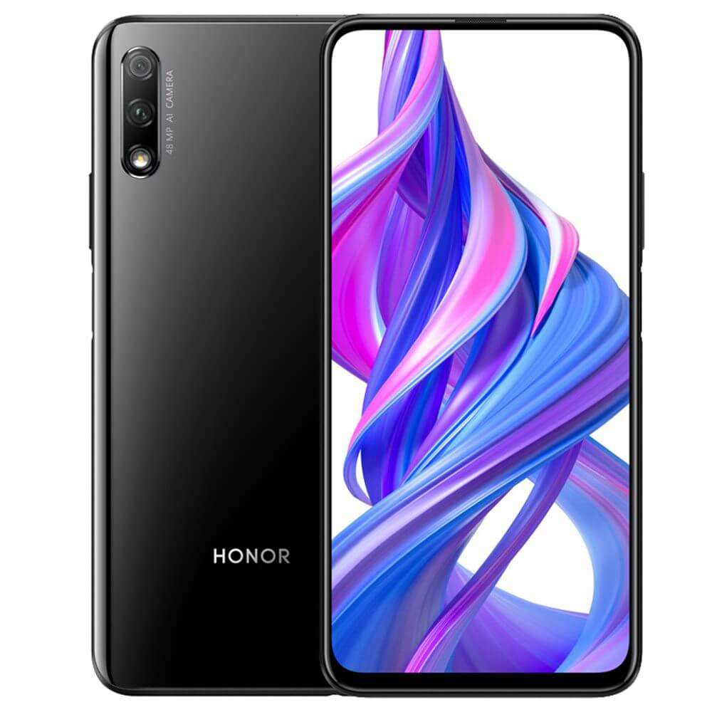 Honor 9X Dual SIM - 128GB, 6GB RAM, 4G LTE, Midnight Black