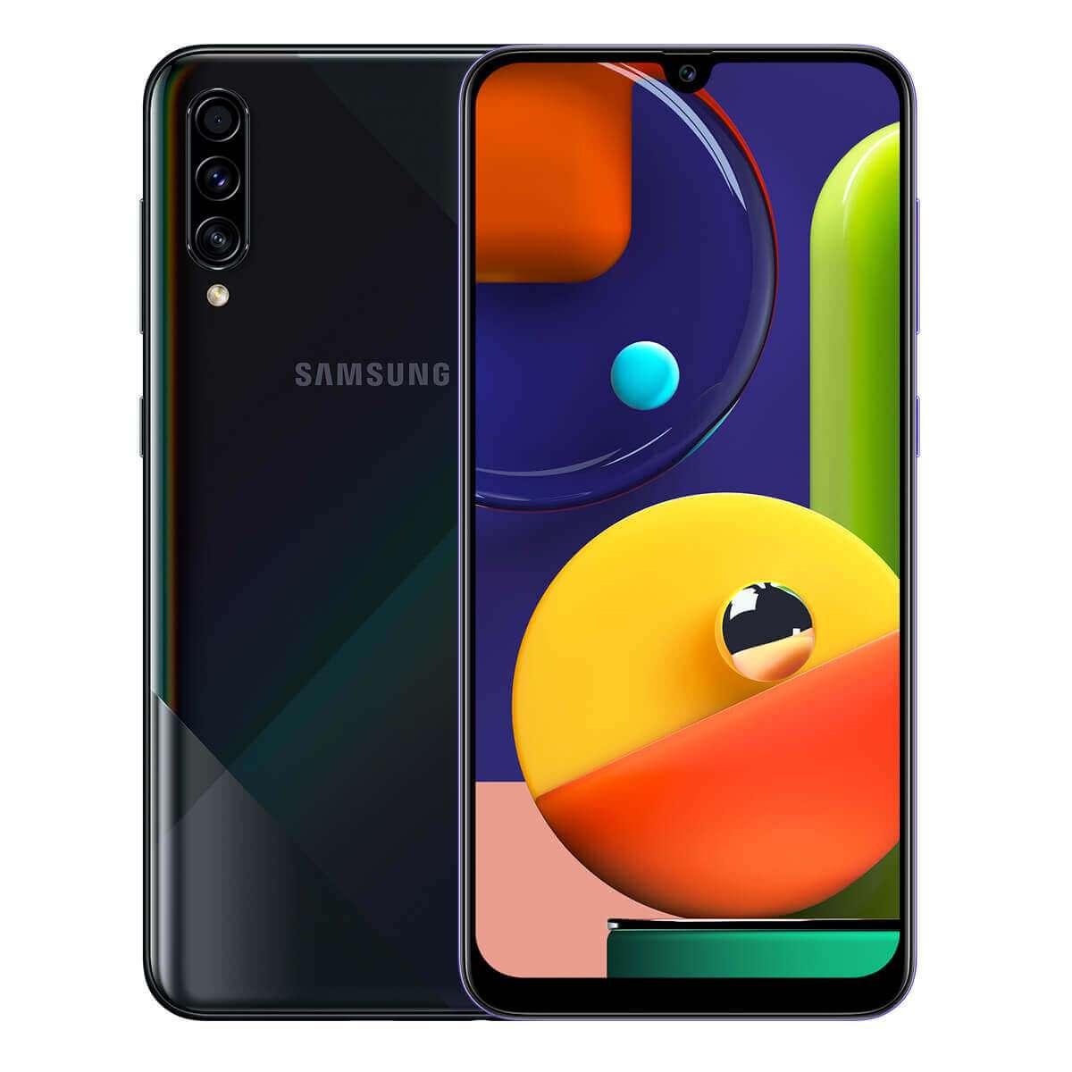 Samsung Galaxy A50s Dual Sim,128 GB, 6GB RAM,4G LTE, Prism Crush Black
