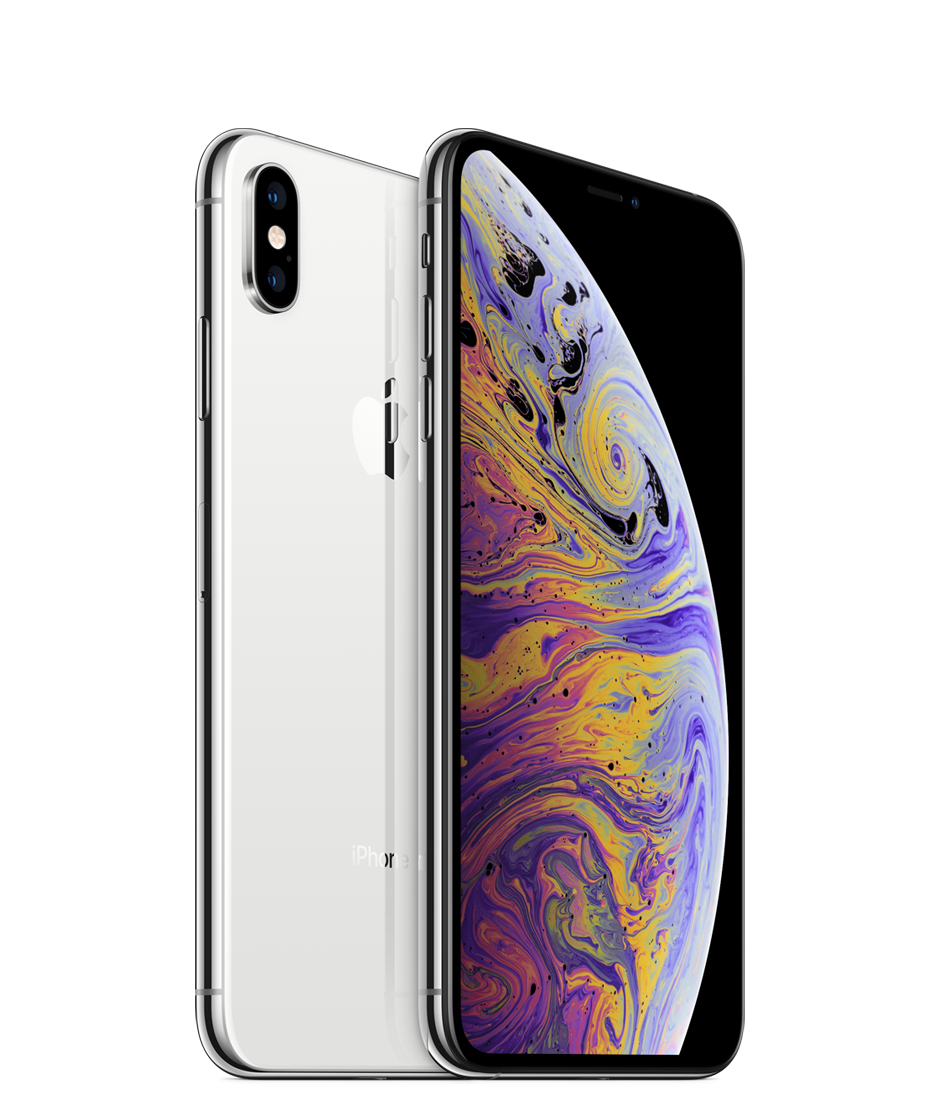 Apple iPhone Xs Max With FaceTime - 64GB, 4G LTE, Silver