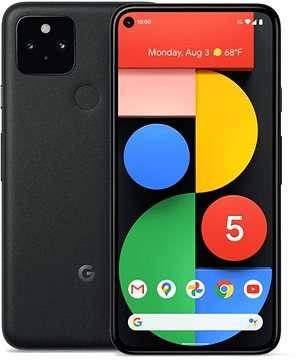 Google Pixel 5 8GB RAM 128GB 5G  Just Black