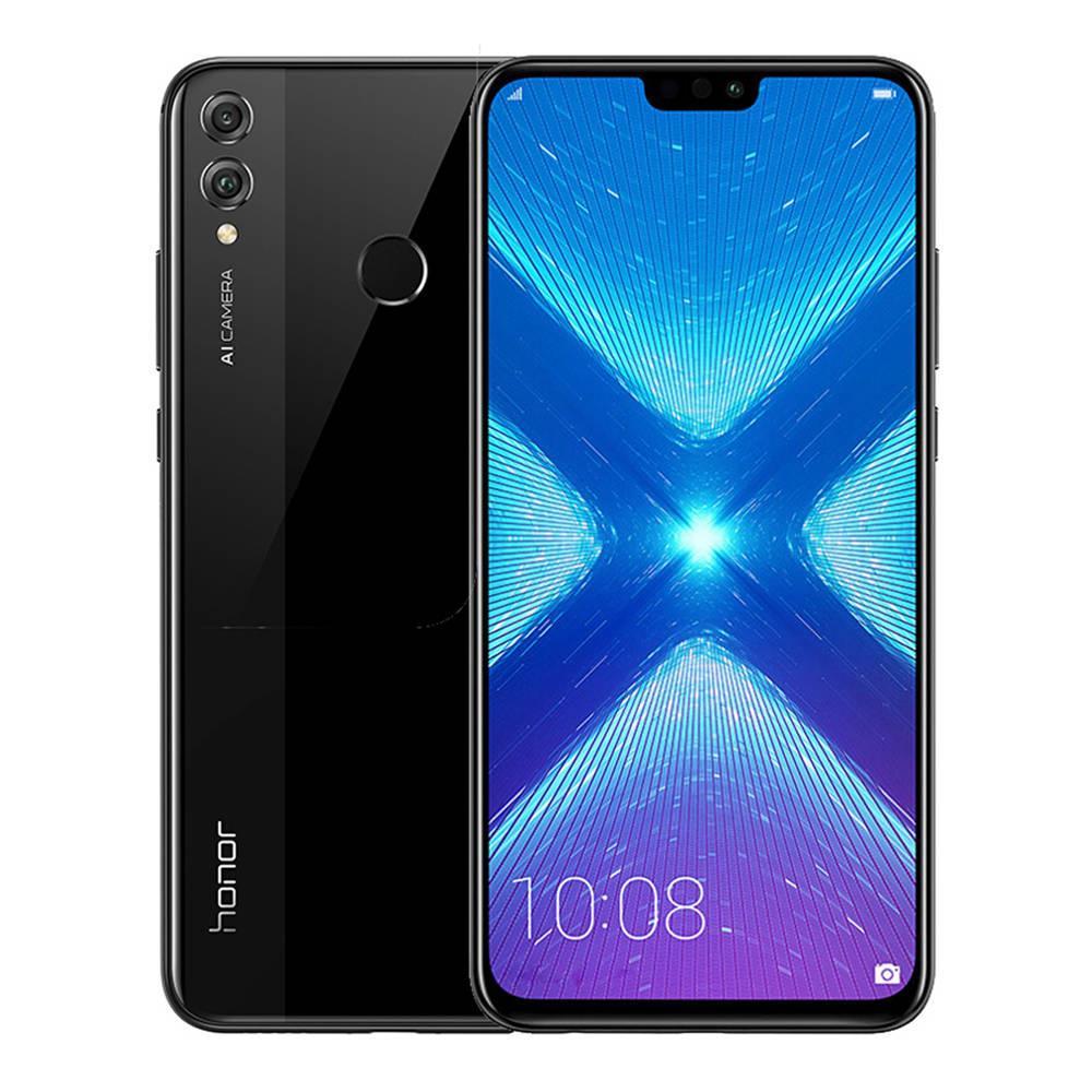 Honor 8X Dual SIM - 128GB, 4GB RAM, 4G LTE, Black