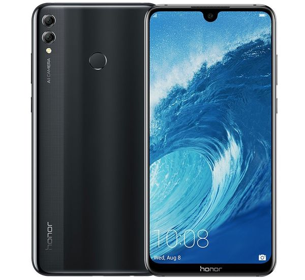 Honor 8X Max Dual SIM - 128GB, 4GB RAM, 4G LTE, Black