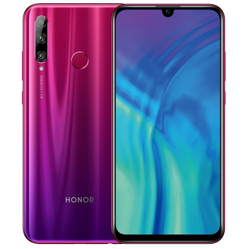 Honor 10i Dual SIM - 128GB, 4GB RAM, 4G LTE, Phantom Red