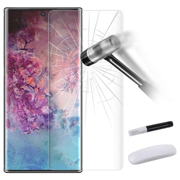 UV Full Glue Tempered Glass For Samsung Galaxy Note 10 Plus