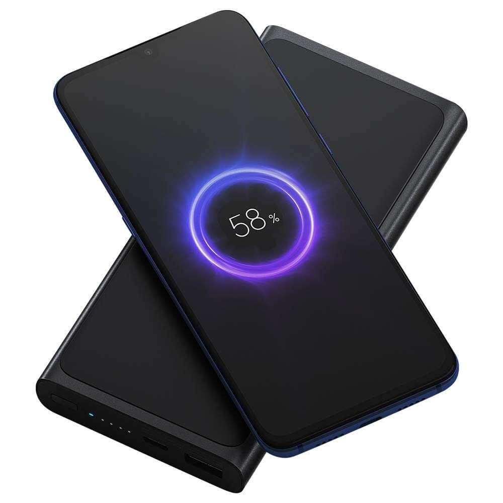Xiaomi Mi 10000mah fast Power bank Wireless Black