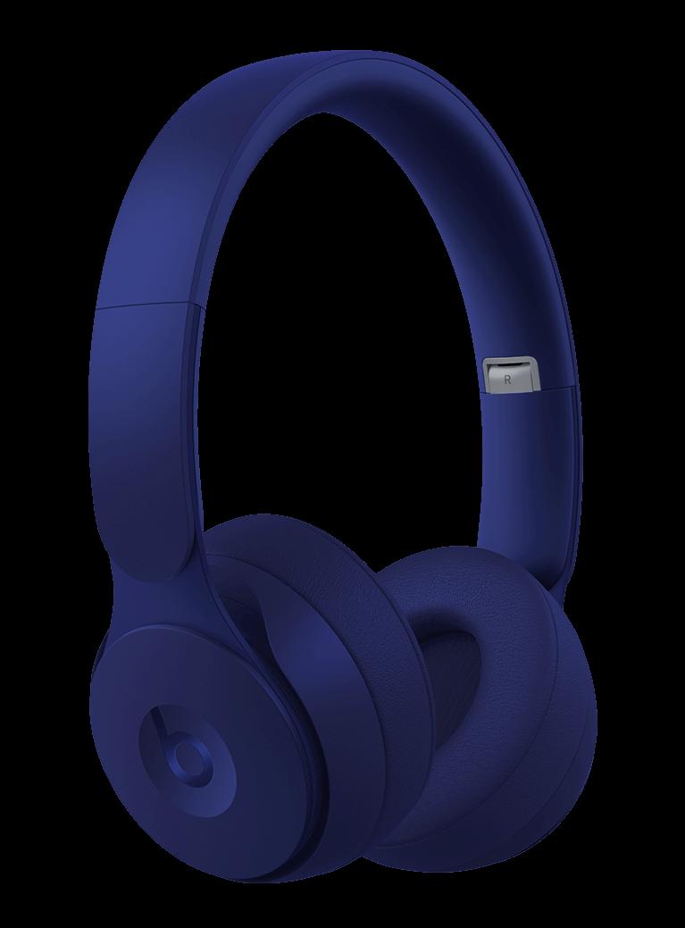 Beats Solo Pro Wireless Noise Cancelling On-Ear Headphones - Dark Blue
