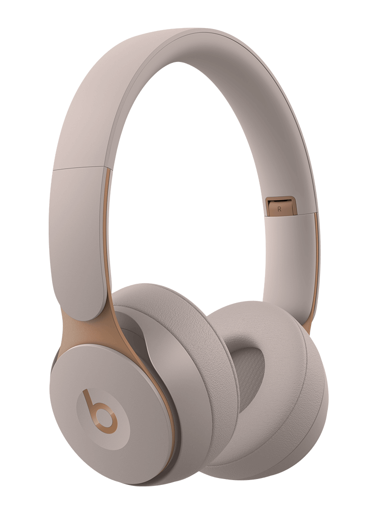 Beats Solo Pro Wireless Noise Cancelling On-Ear Headphones - Gray