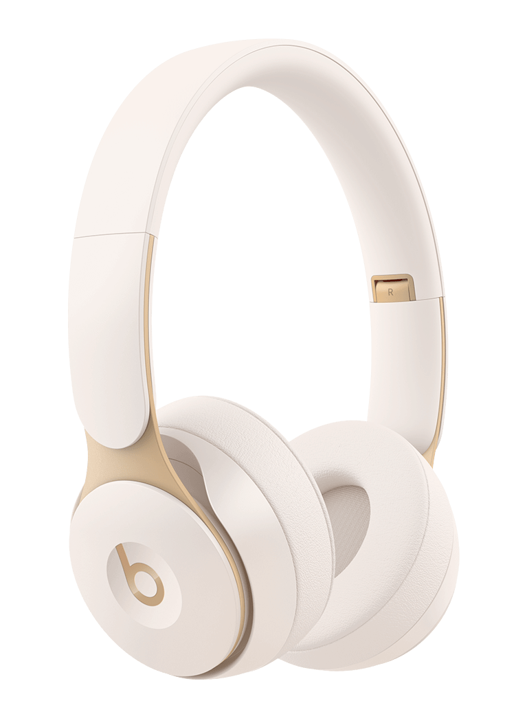Beats Solo Pro Wireless Noise Cancelling On-Ear Headphones - Ivory