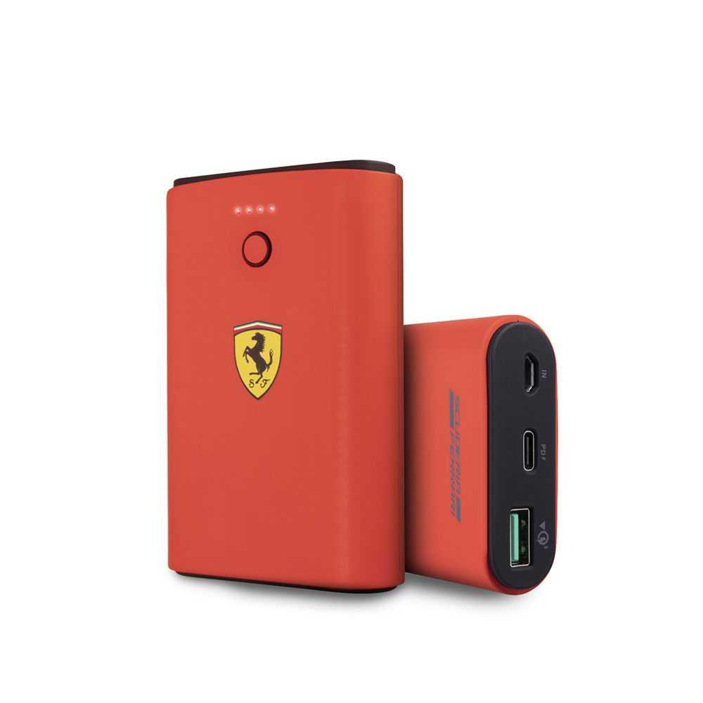 Ferrari On Track Power Bank 7500mAh QC3.0 - Red