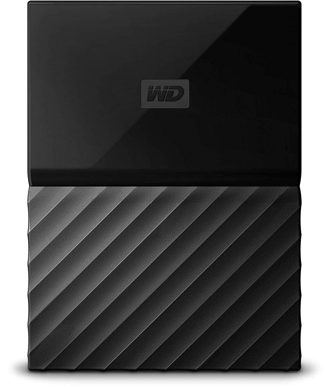 WD 1TB My Passport USB 3.0 Secure Portable Hard Drive Black