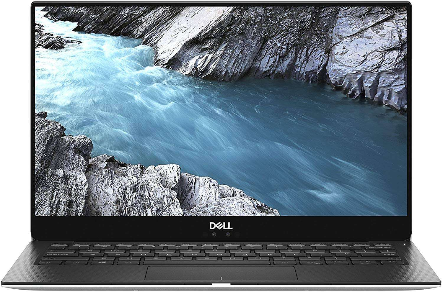 DELL XPS 9370 With 13.3-Inch Display, Core i7 Processor/8GB RAM/256GB SSD/Intel UHD Graphics 620 Silver