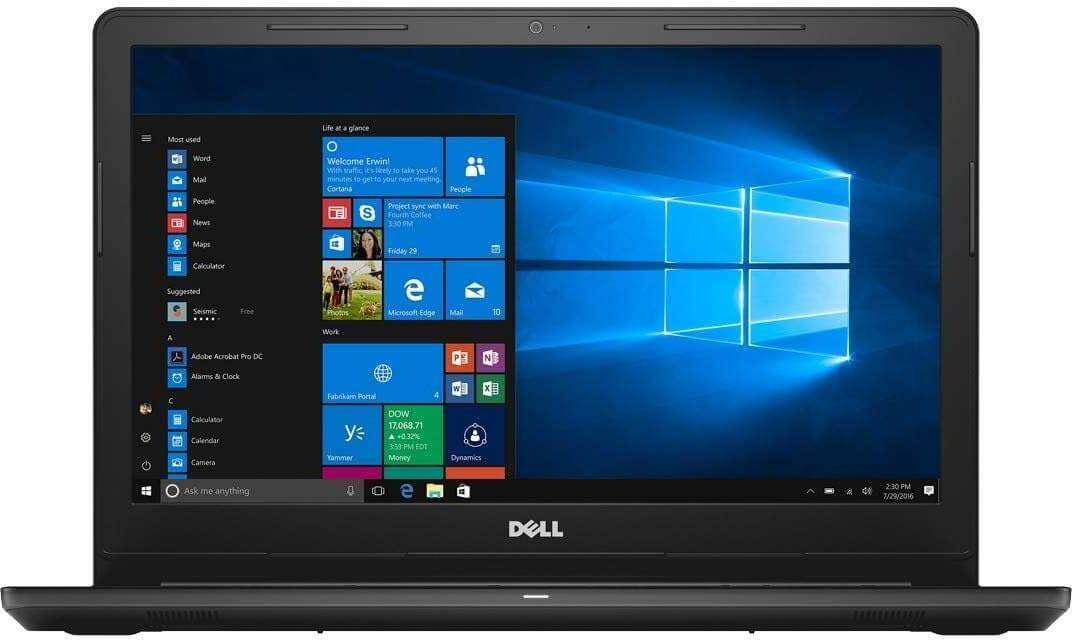 DELL Inspiron 3576 Laptop With 15.6-inch Display, Core i5 Processor/1TB HDD/4GB RAM//AMD Radeon R5 M430 Graphics 520 Black