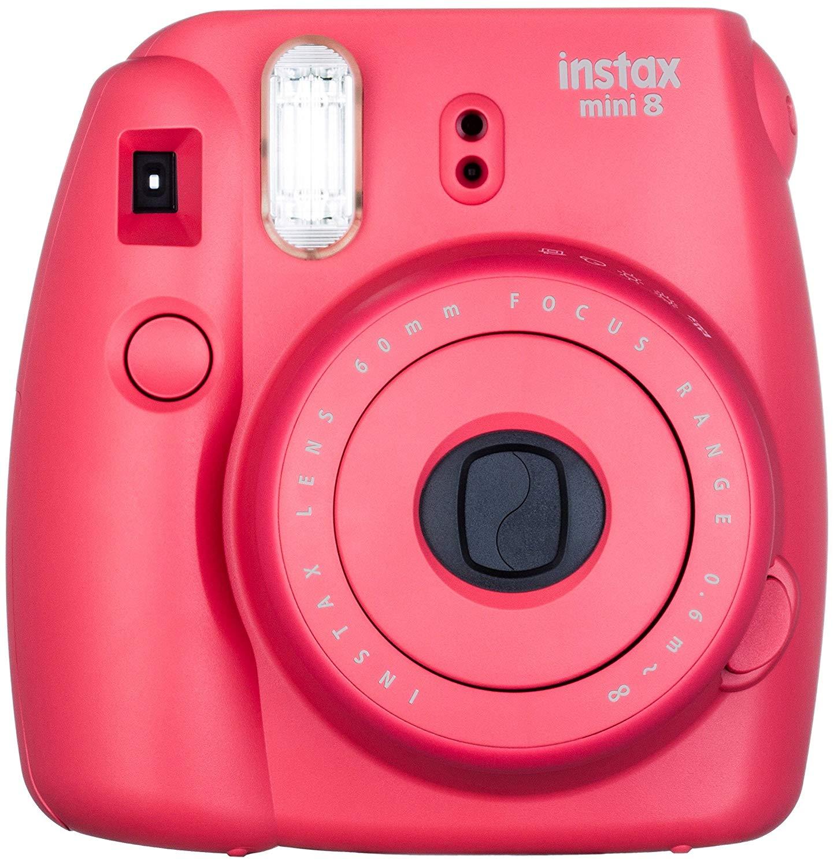 Fujifilm instax mini 8 Instant Film Camera (Raspberry)