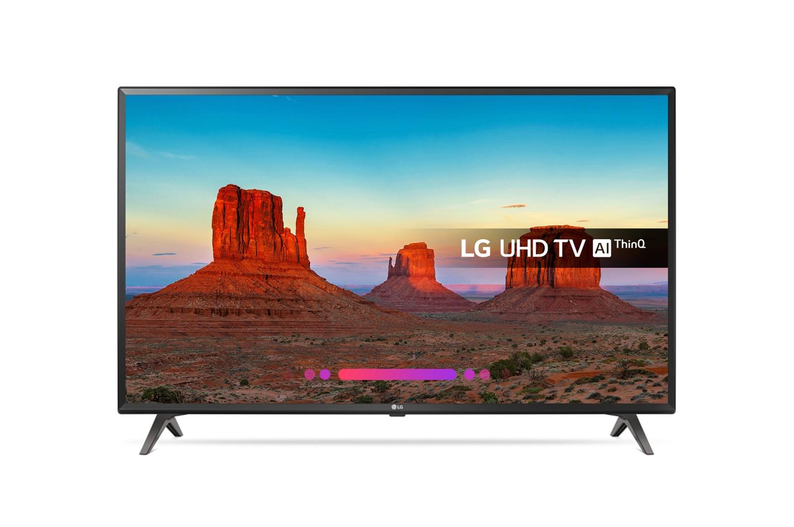 LG 49UK6300PLB 4K Ultra HD HDR Freeview Freesat HD Smart LED TV 49