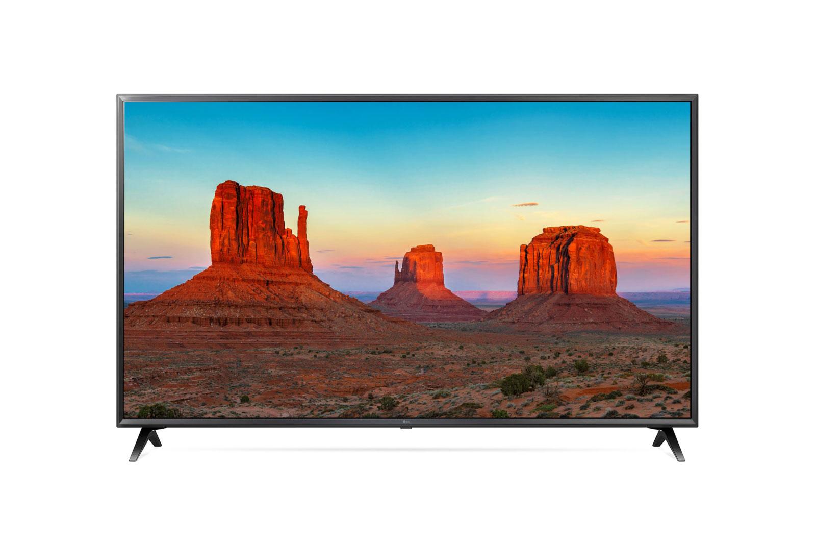 LG 55-Inch 4K UHD Smart LED TV 55UK6300PVB Black
