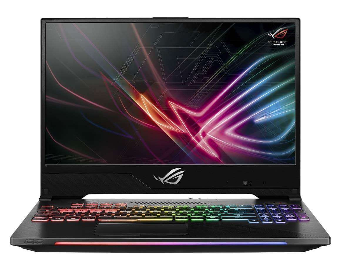 ASUS Rog Strix GL504GM-ES215T Gaming Laptop With 15.6-Inch Display, Intel Core i7 Processor/16GB RAM/1TB HDD + 256GB SSD Hybrid Drive/6GB NVIDIA GeForce GTX1060 Graphics Card Black