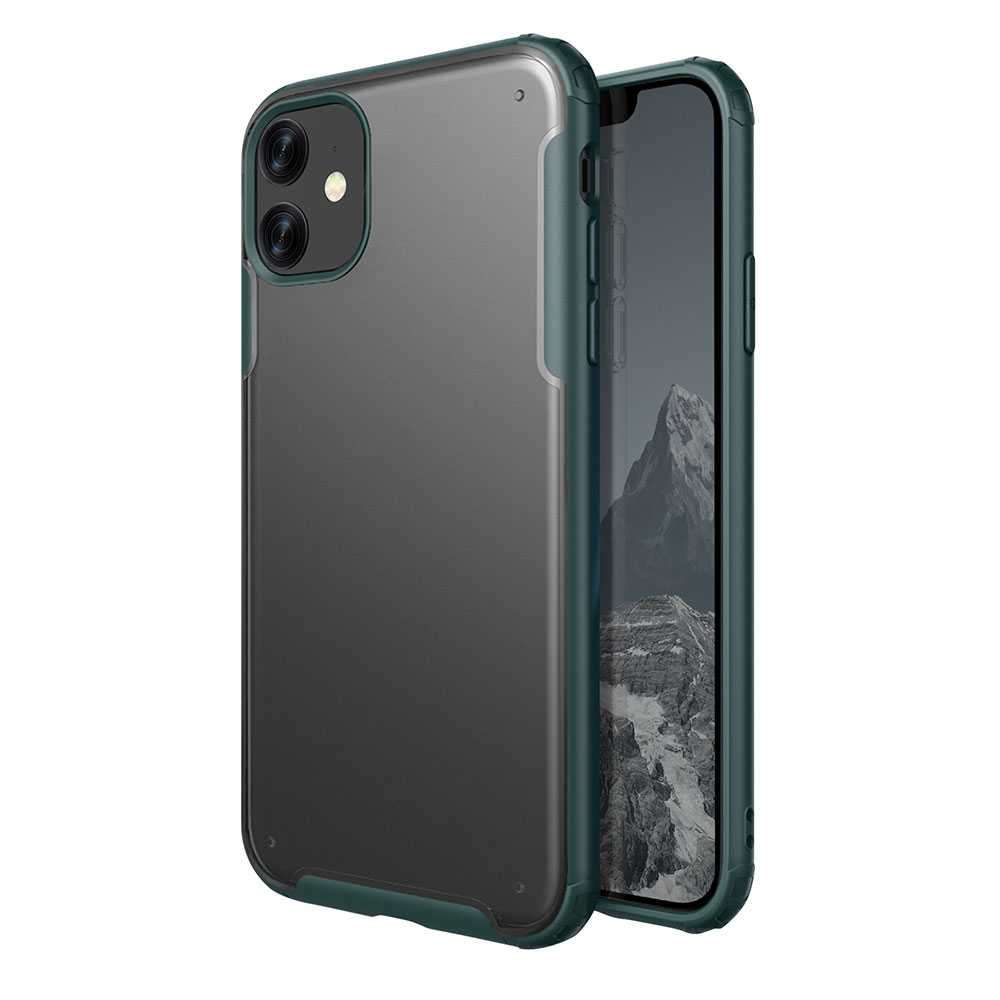 Viva Madrid Vanguard Shield Frost Back Case for iPhone 11 - Green