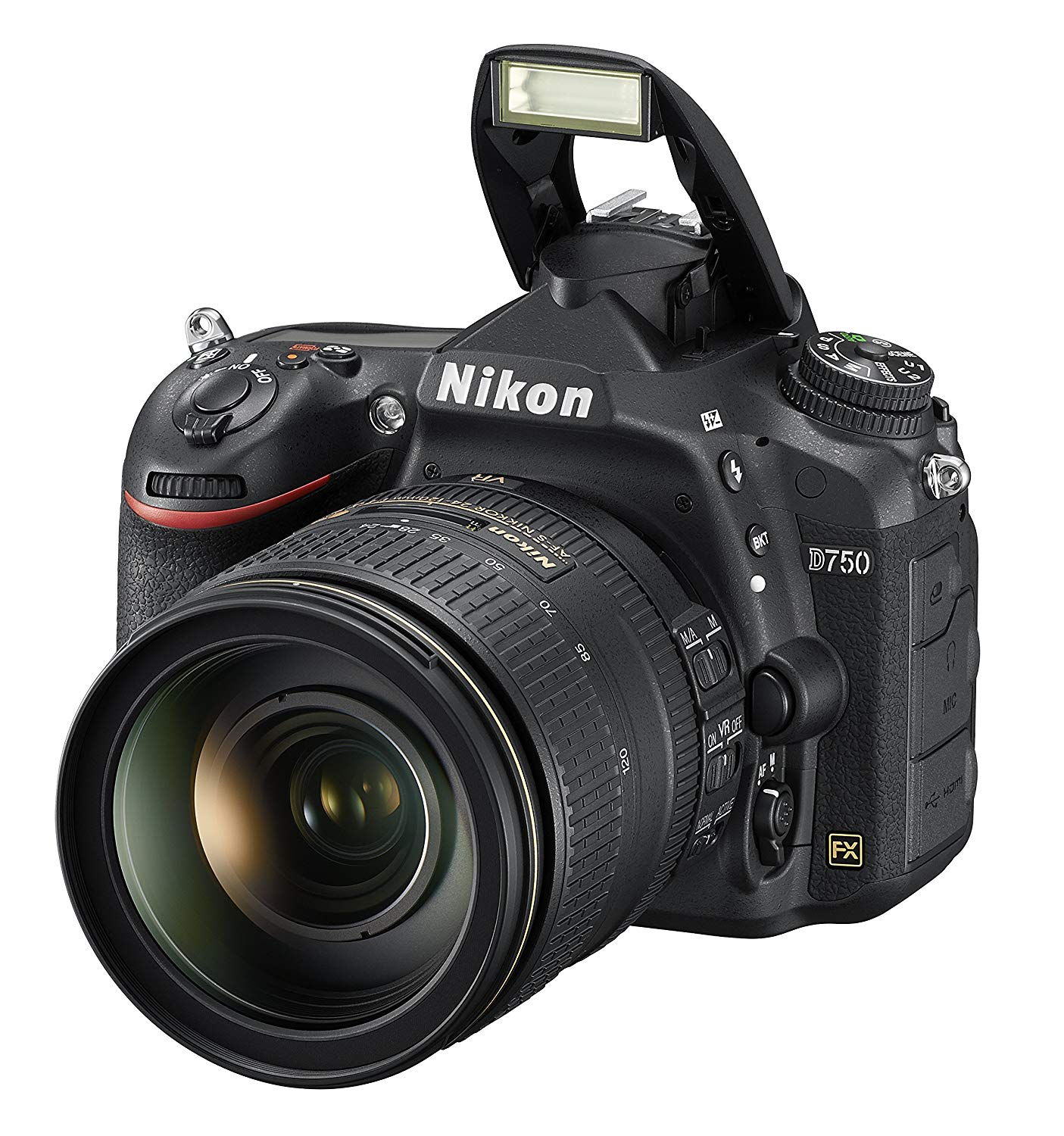 Nikon D750 DSLR Camera with 24-120mm Lens (Black)