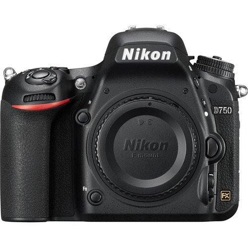 Nikon D750 DSLR Camera Body Only (Black)