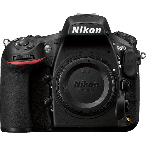 Nikon D810 DSLR Camera Body Only (Black)