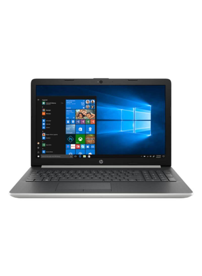 HP 15-da1007ne Notebook With 15.6-Inch Display, Core i7 Processor/8GB/1TB HDD/4GB NVIDIA GeForce MX130 Graphic Card With English/Arabic Keyboard Silver