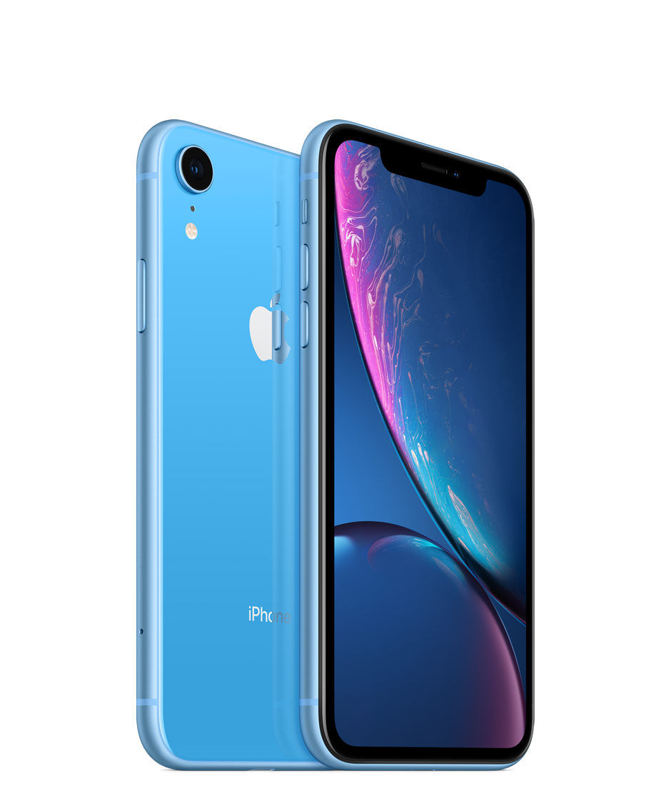 Apple iPhone XR with Face Time - 64GB, 4G LTE, Blue