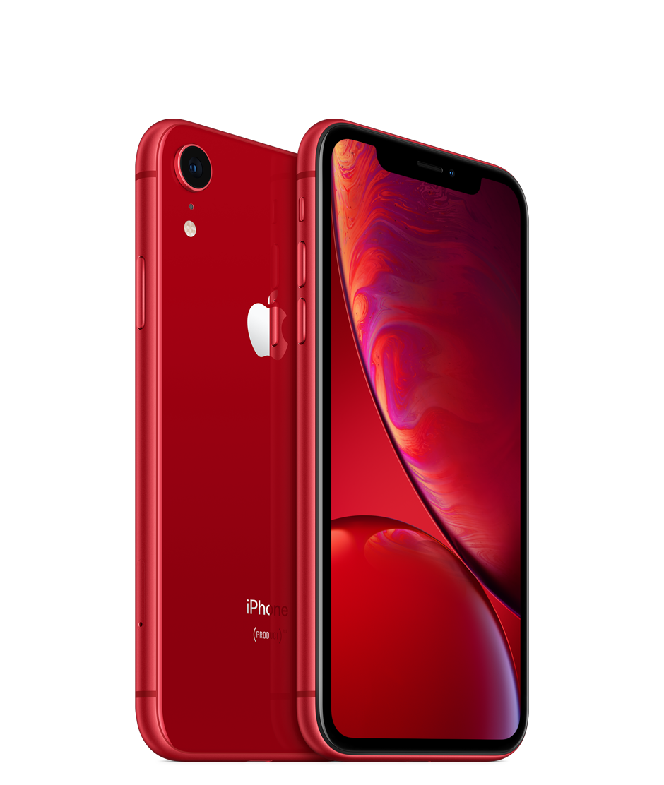 Apple iPhone XR with Face Time - 128GB, 4G LTE, Red