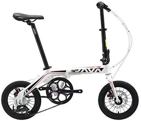 JAVA X1 Foldable Kids Bike 14 inch - Black & White