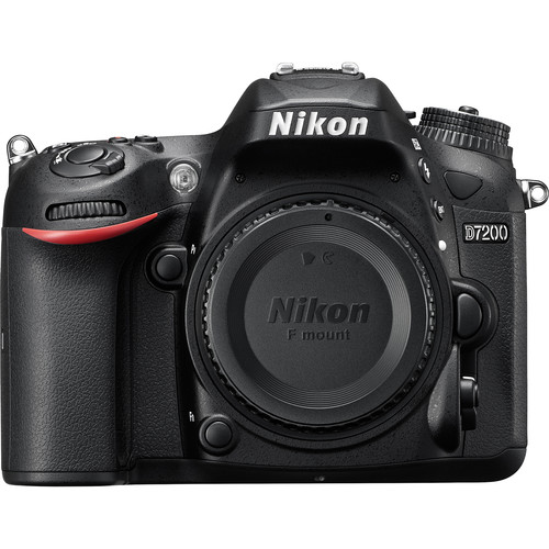 Nikon D7200 DSLR Camera Body Only (Black)