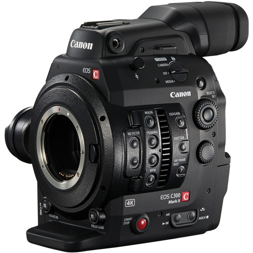 Canon Cinema EOS C300 Mark II Camcorder Body with Dual Pixel CMOS AF (EF Lens Mount)