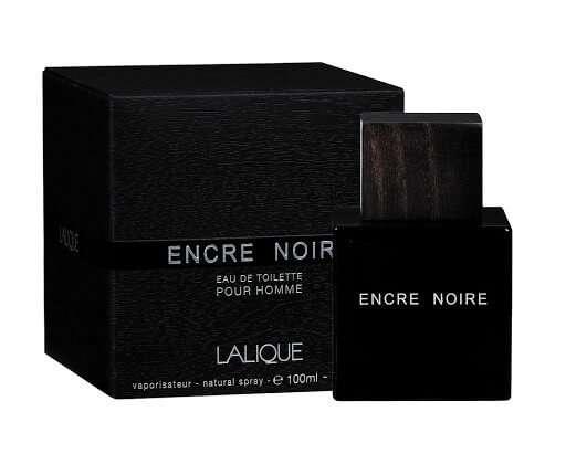Lalique Encre Noire By Lalique For Men - Eau De Toilette, 100Ml