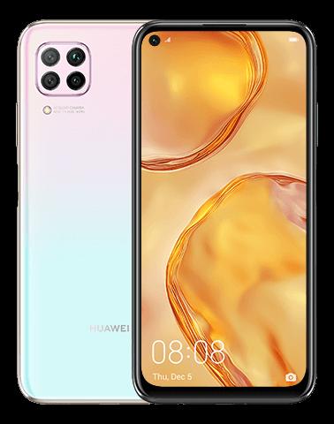 Huawei Nova 7i Dual Sim - 128GB, 8GB RAM, 4G LTE, Sakura Pink