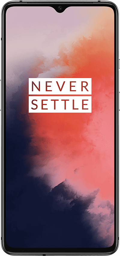 OnePlus 7T - 128GB, 8GB RAM, 4G LTE Frosted Silver
