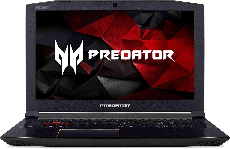 Acer Predator Helios 300 Gaming Laptop With 15.6-Inch Display, Core i7 Processor/16GB RAM/1TB HDD+256GB SSD Hybrid Drive/6GB NVIDIA GeForce GTX 1060 Graphics Black